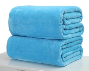 1. OEM Plush Fleece Blanket Sofa Throw