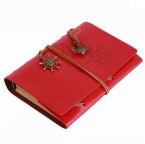 6. Ai Home Vintage Blank Loose-leaf Notebook Diary