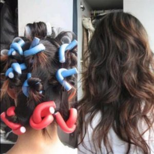 3. Odette Shop Soft Foam Bendy Twist Hair Curler