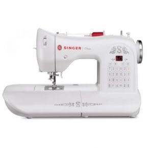 2. Singer ONE Vintage-Style Computerized Sewing Machine