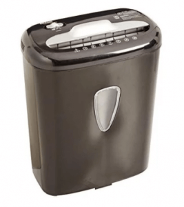 8. AmazonBasics 6-Sheet Paper Shredder