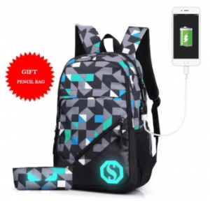 9. Lagyoue School and Laptop Backpack