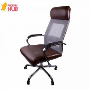 3. Phoenixhub Premium Quality Leather Manager's Chair 6342