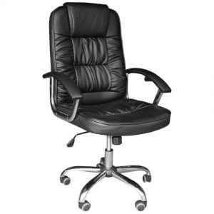 2. Ergodynamic High Back Faux Leather Office Chair HBC-116N