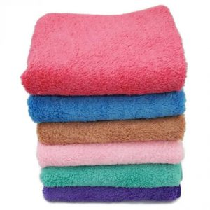 6. Big Bash Microfiber Soft Towels (6 pieces)