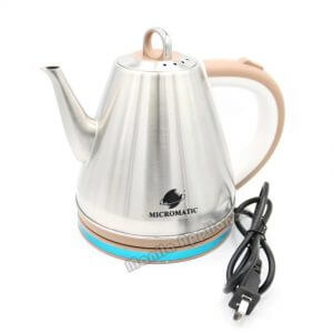 7. Micromatic Stainless Steel Electric Kettle MCK-1200 1.2ℓ