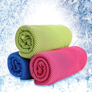 5. Cool Core Cold Feeling Cool 15 Degrees Ice Towel