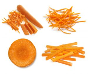 Shredded Carrots by Slicing Compiled Slices