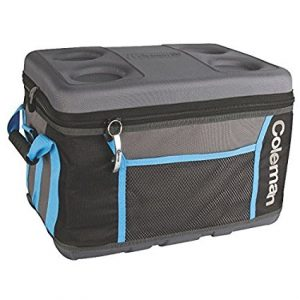 7. Coleman 45 Can Soft Cooler Eva Molded