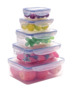 3. Keimavlock 10-Piece Airtight Food Storage Container Box Set