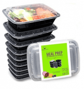 7. OEM 10-Piece BPA-Free Microwavable Stackable Meal Prep Containers