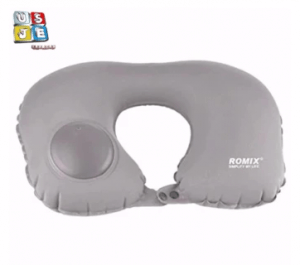 2. Romix High-Quality Travel Inflatable Neck Pillow