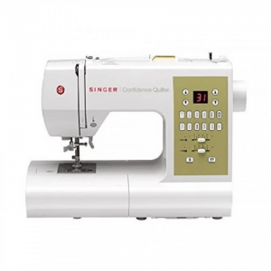 7. Singer Confidence Quilter Electronic Sewing and Quilting Machine 7469Q