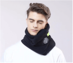 1. TRTL Scientifically Proven Travel Support Soft Neck Pillow