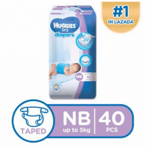 4. Huggies Newborn Dry Diapers