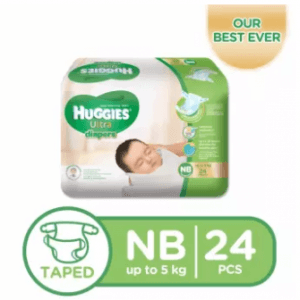 5. Huggies Ultra Newborn Diaper