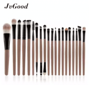 9. JvGood 20-Piece Makeup Brush Set