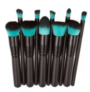 8. Vakind 10-Piece Pro Cosmetic Makeup Brush Set