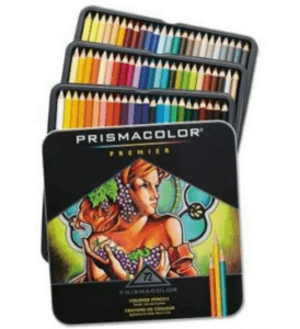 1. Prismacolor Premier Soft Core Colored Pencil (Set of 72)