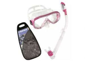 5. Cressi Onda Dry Diving Mask and Dry Snorkel Snorkeling Set