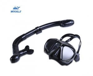 4. WHALE Professional Snorkeling Set