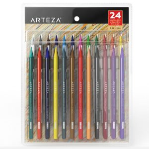 10. Arteza Woodless Pencils (Set of 24)