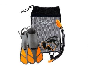2. Seavenger Diving Dry Top Snorkel Set