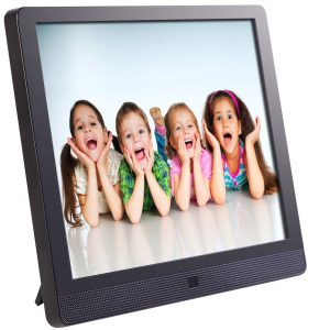 1. Pix-Star Wi-Fi Cloud Digital Photo Frame FotoConnect XD (15 Inches)
