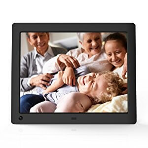 4. NIX Advance Hi-Res Digital Photo Frame with Motion Sensor (X08E)