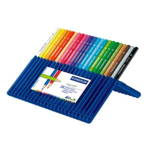 2. Staedtler Ergosoft Colored Pencil (Set of 24)