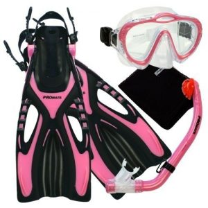 1. PROMATE Junior Snorkeling Set