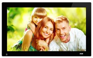 5. SSA Widescreen Digital Photo Frames with Motion Sensor