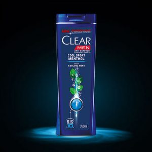 6. Clear Men Anti-Dandruff Shampoo Cool Sport Menthol