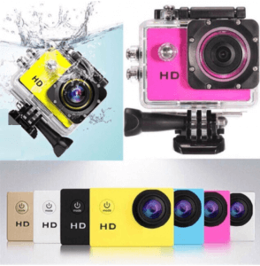 10. A7 Water-Proof Sports Camera