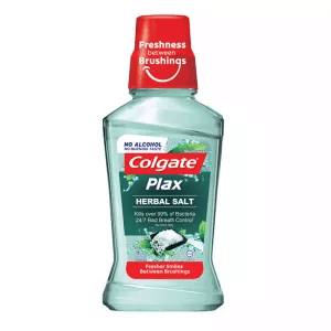 9. Colgate Plax Active Salt Mouthwash