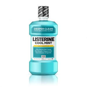 5. Listerine Cool Mint Mouthwash