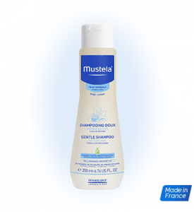 6. Mustela Gentle Shampoo 200 ml