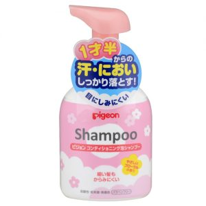 1. Pigeon Baby Shampoo with Baby Flower Fragrance Foaming Bottle 350 ml