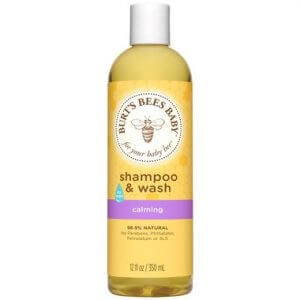 3. Burt's Bees Baby Bee Calming Shampoo and Wash