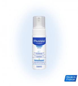 2. Mustela Foam Shampoo for Newborns 150 ml