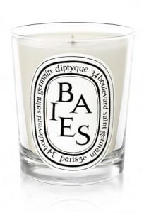 6. Diptyque Berries Scented Candle