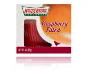 10. KRISPY KREME Raspberry Filled Scented Candle