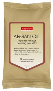 5. Purederm Skin Solutions Argan Oil Make-up Remover Cleansing