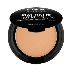 9. NYX Stay Matte But Not Flat Powder Foundation