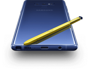 1. Samsung Galaxy Note 9
