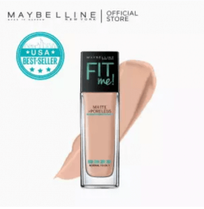 Maybelline Fit Me Matte + Poreless Liquid Foundation 30 mL