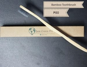 6. Just Green PH / Bamboo Toothbrush with Bamboo Charcoal Bristles