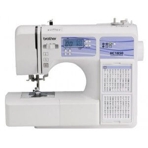 5. Brother HC1850 Computerized Sewing and Quilting Machine