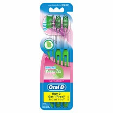5. Oral-B Ultra Thin Green Tea 5s Extra Soft Toothbrush
