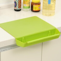 2. ZS Candy Color Striped Slice Antimicrobial Cutting Board